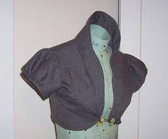 FREE Edwardian Bolero Sewing Pattern and Tutorial                                                                                                                                                                                 More