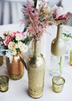 A touch of glitter is the perfect way to make your wedding wow. From manicures to tablecloths, we've rounded up the best ways to make your Big Day dazzle.