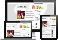 We have new Responsive Themes for the blog foodies in Typepad - Gourmet Theme - Sweet Variation #Typepad #blogging