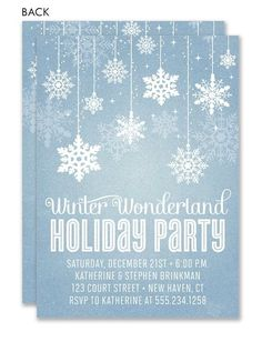 winter wonderland masquerade party invitations  invitations, party invitations