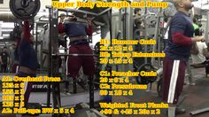 #UpperBody #workout video: http://youtu.be/ryMnn1t5InQ #OverheadPress #OHP #Pullups #Biceps #Triceps #HammerCurls #Extensions