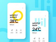 Dailyui 37 - Weather by Chris Lim Web Design, App Ui Design, Interface Design, Fancy App, Smart Home Design, Desktop Design, App Design Inspiration, Mobile Ui Design, Mobile App Ui