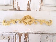 Rose Architectural Furniture Appliques Onlays Wood Resin Flexible #ebay #Home & Garden