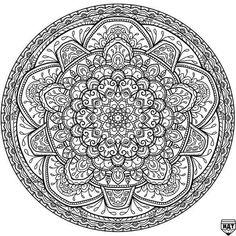 Circles Mandala 5 By WelshPixie