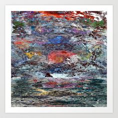 Ocean of Time Art Print by Victory and Gold - $15.00