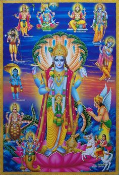 This item is… Lord Vishnu Avatars Poster Poster Size20 x 30 inches (Approx.) Poster ConditionNew & Mint Paper QualityNormal Thick Paper (80 GSM Approx.) PaymentBy Paypal Shipping $1.99 Worldwide (One