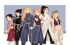 Strong Female Characters of Fullmetal Alchemist 鋼の錬金術師 Fullmetal Alchemist, Fulmetal Alchemist, Edward Elric, Punch Man, Otaku, Alphonse Elric, Roy Mustang, Human Soul, Alchemy