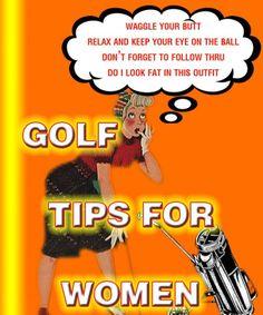 Ladies golf ~ TIPS