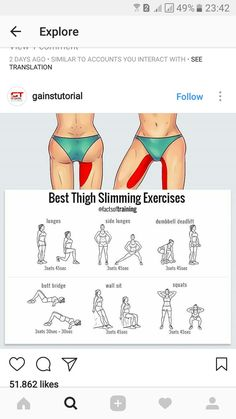 Good news for those who want to lose weight fast! Through this diet you can lose weight in an easy and healthy way without being hungry. Fun Workouts, At Home Workouts, Best Thigh Exercises, Inner Thight Workout, Fitness Motivation, Summer Body, Loose Weight, Plein Air, Excercise