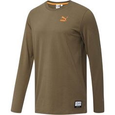 e0f23331d1 Puma Winter Long Sleeve T-Shirt ($25) ❤ liked on Polyvore featuring men's