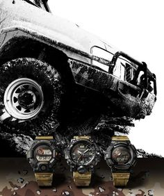 G-Shock Master Of G Gravitymaster and Mudmaster G Shock Mudman, G Shock Watches Mens, Tactical Watch, Luxury Watches, Monster Trucks, Wristwatches, Men's Style, Ideas, Casio Watch