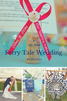 Have your Ferry Tale wedding with us! Say 'I Do' in front of the best waterfront view of the bay!