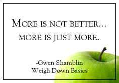 Weigh Down Basics, learn the self-control of a thin-eater and end desire eating!