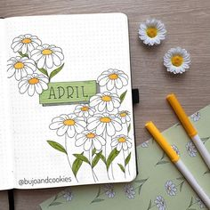 Are you looking for the best bullet journal ideas for April? Here are the latest and best bullet journal covers for April. April Bullet Journal, Bullet Journal Banner, Bullet Journal Cover Page, Bullet Journal School, Bullet Journal Notebook, Bullet Journal Ideas Pages, Bullet Journal Spread, Bullet Journal Inspo, Bullet Journal Layout