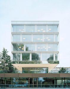 Erweiterungsbau in Genf von Wittfoht fertig / World Trade Organization - Architektur und Architekten - News / Meldungen / Nachrichten - BauN...