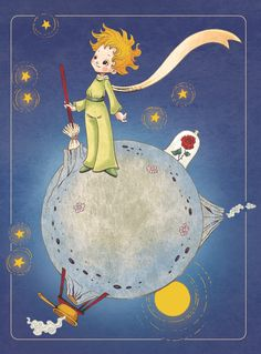 Le Petit Prince_ tribute by on DeviantArt The Little Prince Movie, Little Prince Quotes, Little Princess, Couple Wallpaper, Disney Wallpaper, Le Petit Prince Phrases, Meu Amigo Charlie Brown, Plastic In The Sea, St Exupery