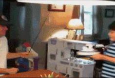 This Dad who takes the cake. | 11 GIFs That Prove Dads Are Superheroes