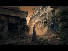 Photoshop Manipulation Dramatic Effects - Ghost Town - YouTube