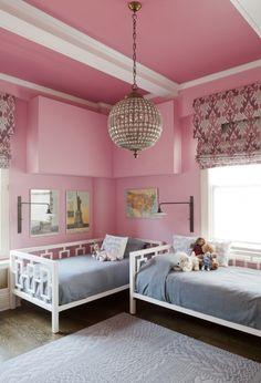 Lauren Rubin Architecture pink room | Remodelista