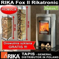 RIKA company's motto is a constant striving for improvement of products and just such a spectacular achievement is the furnace running FOX II Ricatronic 3 At the moment, probably the best cook in the world burning stove. For all the technical advantages such as unprecedented efficiency, low emissions, chamotte lining, afterburner system, bake FOX II is enhanced by advanced combustion system Rikatronik 3…