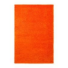 Vibrant orange carpet