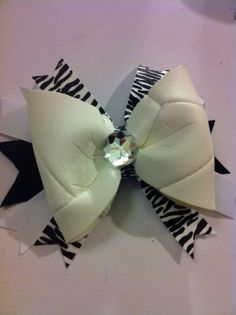 Volleyball bow- made out of REAL volleyball. via Etsy