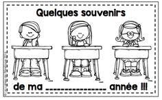 Le cahier de Pénélope: Une petite activité de fin d'année? Core French, French Class, End Of School Year, Too Cool For School, End Of Year Activities, Book Activities, School Organisation, French Resources, French Immersion