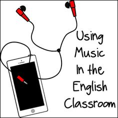 Fun Ways to Use Music in the English Classroom - Building Book Love Ela Classroom, English Classroom, Classroom Community, Classroom Activities, Classroom Ideas, Listening Activities, Classroom Organization, Classroom Management, Middle School Ela