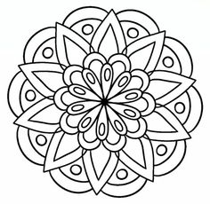 Easy coloring pages, mandala coloring pages, coloring sheets, coloring books, mandala tattoo Mandala Art, Mandalas Drawing, Mandala Pattern, Dot Painting, Mandala Tattoo Design, Mandalas To Color, Easy Coloring Pages, Mandala Coloring Pages