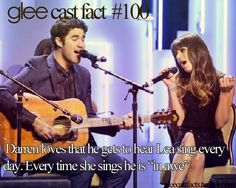 GLEE CAST FACTS- Lea's got an incredible voice