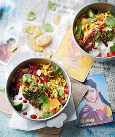 Ravinder Bhogul recreates an authentic Indian street food recipe that makes her reminisce about her time exploring Mumbai.