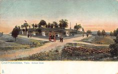 TN - 1900's Orchard Knob at Chattanooga, Tennessee - Hamilton County - TUCK
