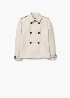 Cotton short trench | MANGO