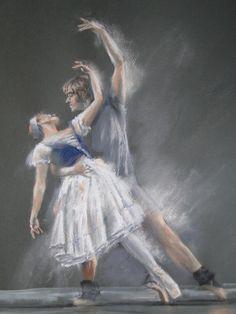 Contemporary figurative artist, ballet artist and dance artist