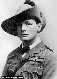 1899, South Africa.--- While serving in the military Winston Churchill worked as a correspondent for the Daily Graphic and the Morning Post and wrote several books about his experiences