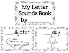 Learning Letter Sounds Activity Pack