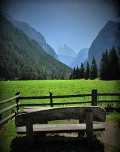 Vista sulle Tre Cime, Dolomiti