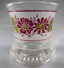 Washington Antique Toothpick Holder US Glass
