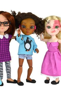 Makies: British toy maker introduces range of dolls that have walking aids, hearing aids and birthmarks. Child Life Specialist, Advanced Style, All Kids, Hearing Aids, Custom Dolls, Special Needs, Disability, First World, Your Child