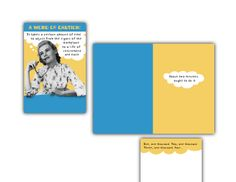 Hallmark Humor Card.