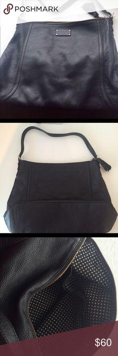 Black Kate Spade shoulder bag Black leather shoulder bag by Kate Spade Kate Spade Bags Shoulder Bags