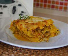 Rezept Kürbislasagne von Chillberto - Rezept der Kategorie Hauptgerichte mit Fleisch