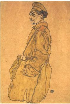 Egon Schiele (1890 – 1918) - Russian Prisoner of War,  1915