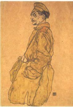 Egon Schiele (1890 – 1918) - Russian Prisoner of War,  1915
