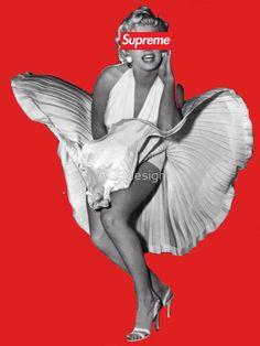 Marilyn Monroe X Supreme by AGBdesign
