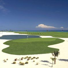sand wedge ◉ re-pinned by  http://www.waterfront-properties.com/pbgoldmarshclub.php