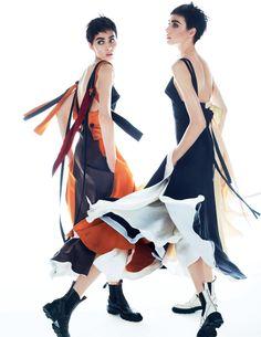 Lia Pavlova, Odette Pavlova by Txema Yeste for Vogue Russia November 2015 7