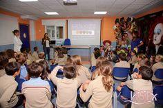 Los alumnos de 3º y 4º de #PrimariaISP recibieron la visita de dos odontopediatras y una higienista. Agradecemos a Marta, Andrea y Azucena su disposición y amabilidad. www.colegiosisp.com