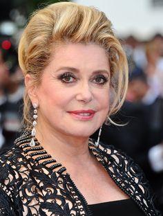 Lors du 64e festival de Cannes, en 2011, pour le film « Les biens-aimés » de Christophe Honoré.