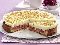 Rhabarbertorte – rhabarber-creme-torte